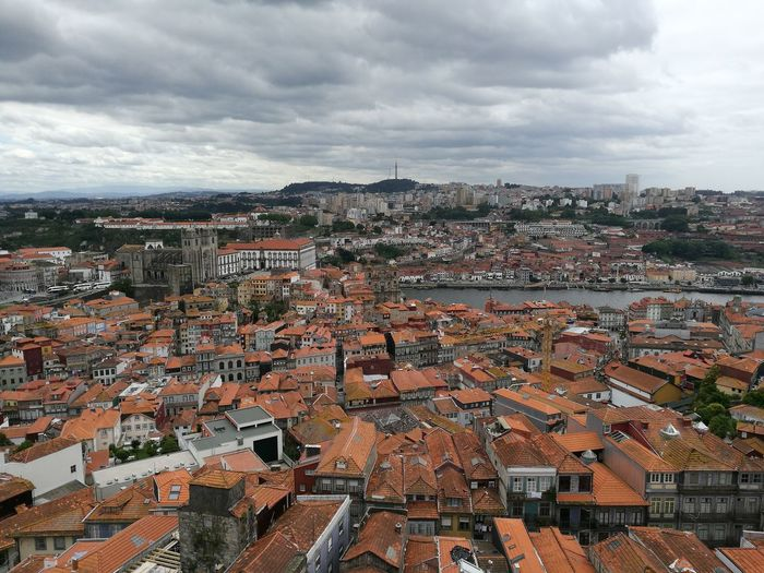 No Filter Porto Cityscape EyeEmNewHere Cloud - Sky Aerial View High Angle View No People