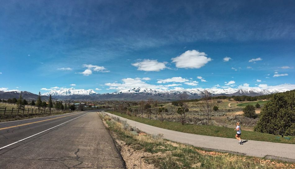 running trails for miles. Heber City Utah Runners