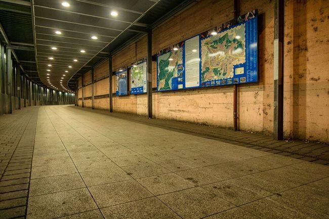 Illuminated Night Railroad Station Architecture The Way Forward No People City Life Tourism City