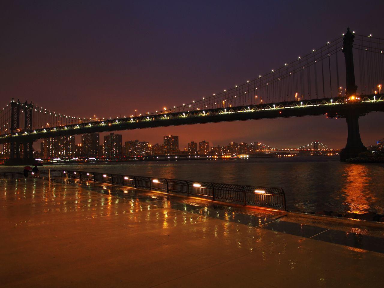 New York Manhattan Bridge DUMBO Brooklyn M.Zuiko 45mm 1:1,8