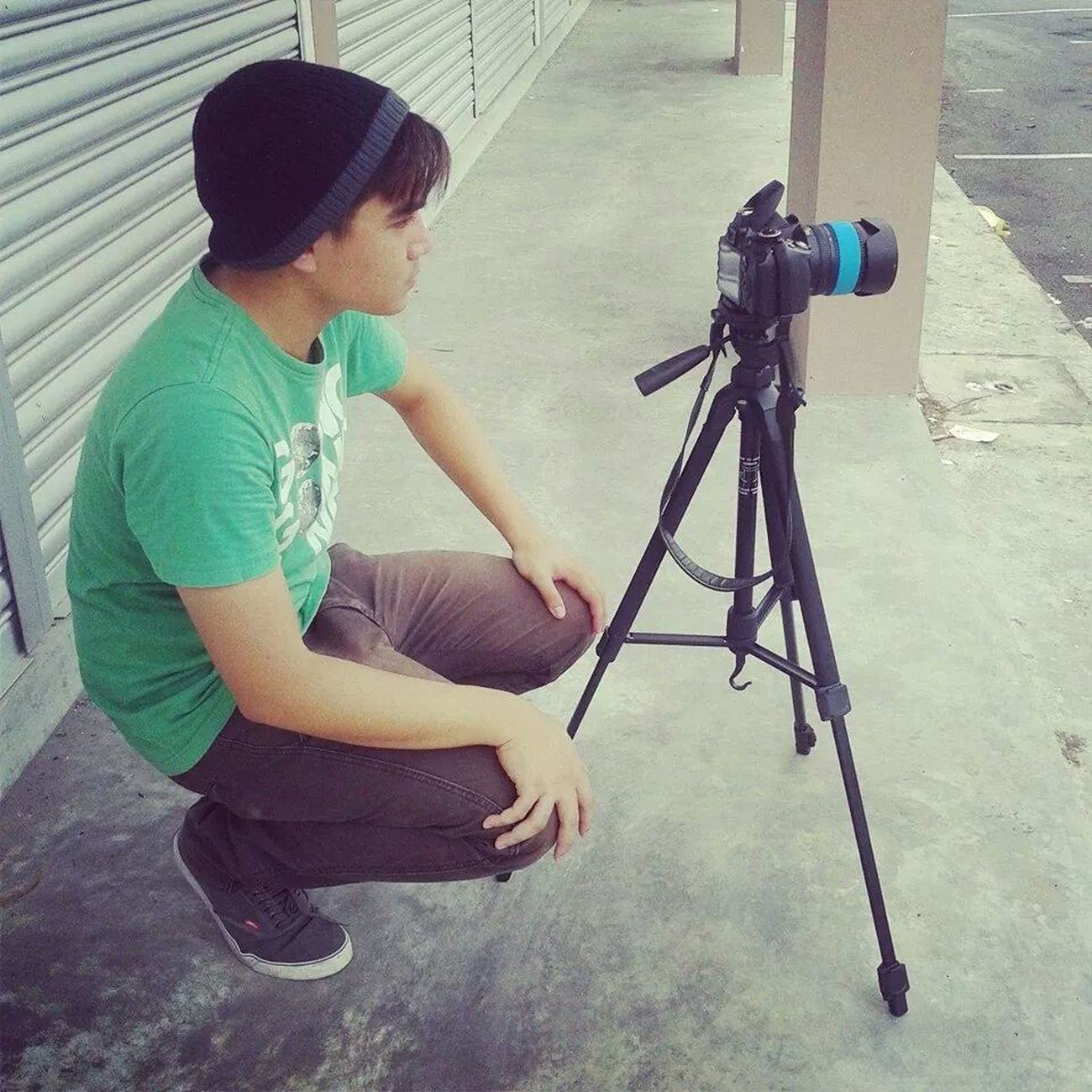 shooting for my Stopmotion Animation.