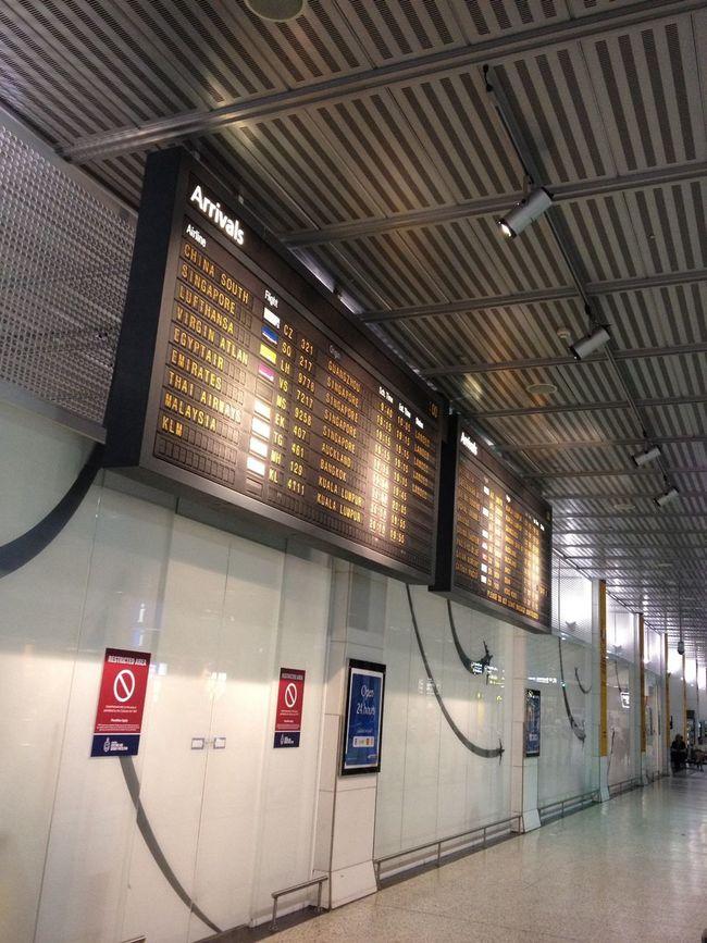 At Melbourne Airport (MEL)