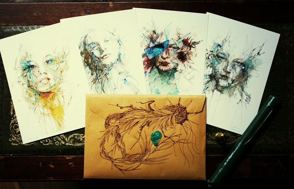 One of my greatest inspirations. All of his work have so much meaning to it. Soon i might put up an attempt ive done myself. Carnegriffiths amazing