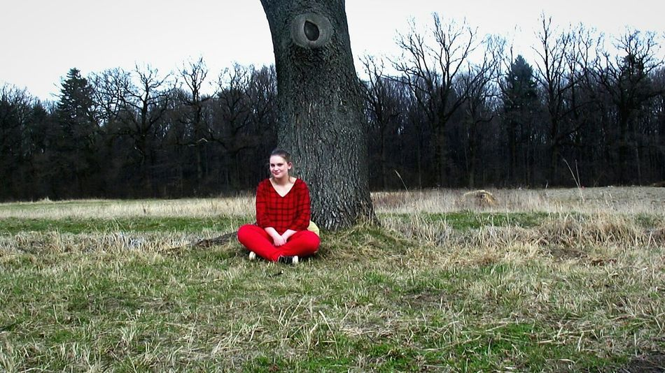 March2015 Red Forest Tree Polishgirl Sun Spring Smile Poland