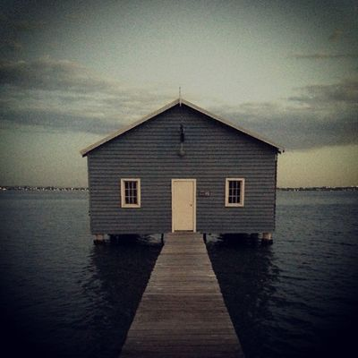 The Blue Boat House with @sontoloyo83 Awesome Life