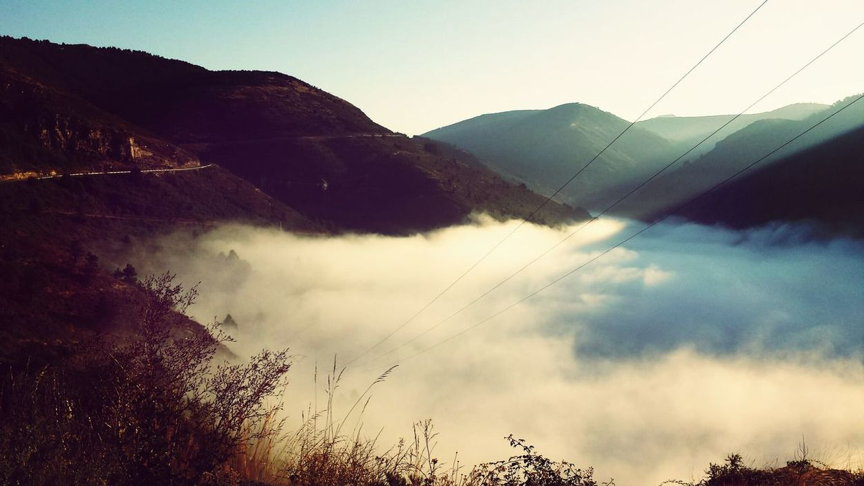 Seafog Nature Mountain_collection Foggy Morning
