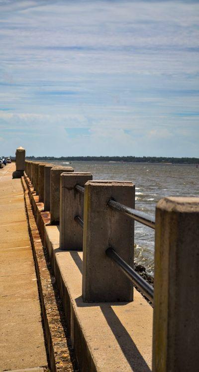 """Charleston Battery"" Sea Water Outdoors Battery Charleston Ocean Historic Waterfront"