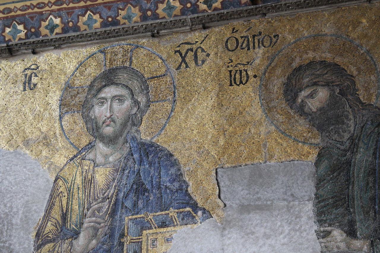 Close-up Hagia Sophia Human Representation Istanbul Jesus Mosaic No Filter, No Edit, Just Photography Religion Saint Sofia Church