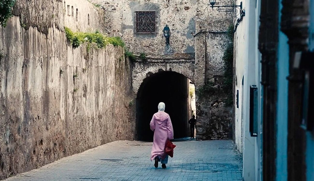Real People One Person Women City Life Tourism Street Photography City Tanger  Street