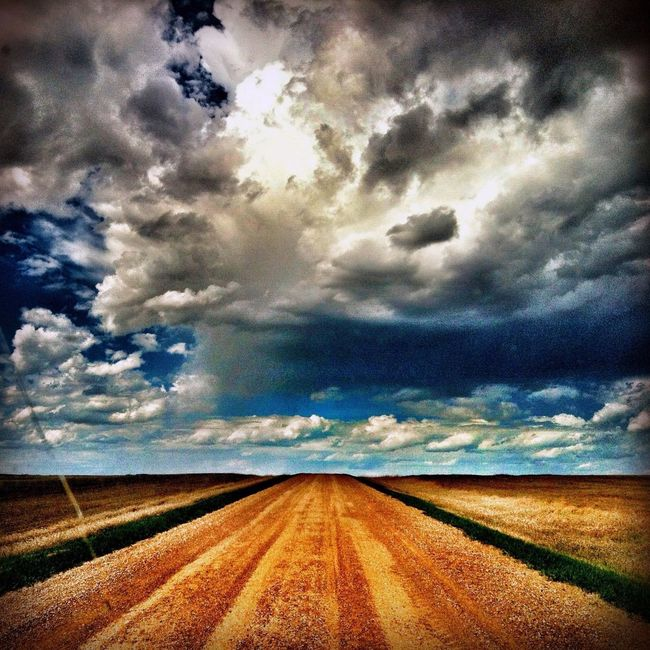 Commute to work in North Dakota Cloudporn Eye4photography  Hanging Out