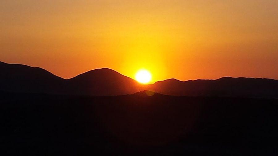 Sunset Mountain Nature