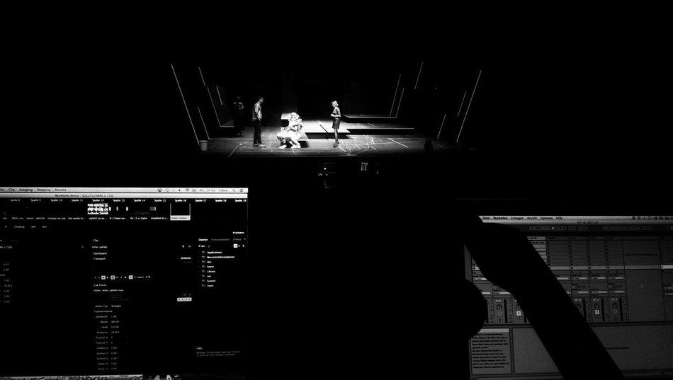 Theater probe.....(supergutetage)
