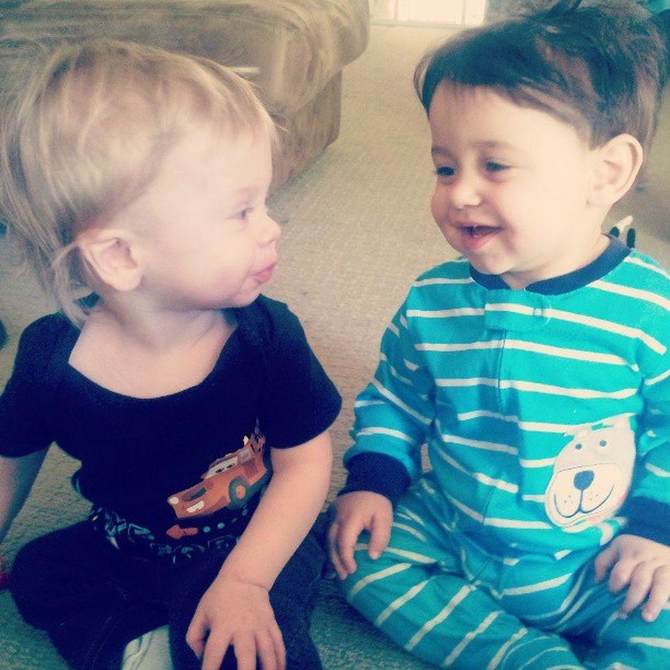 Kyler 15months Brycen 10months cuties babyboys