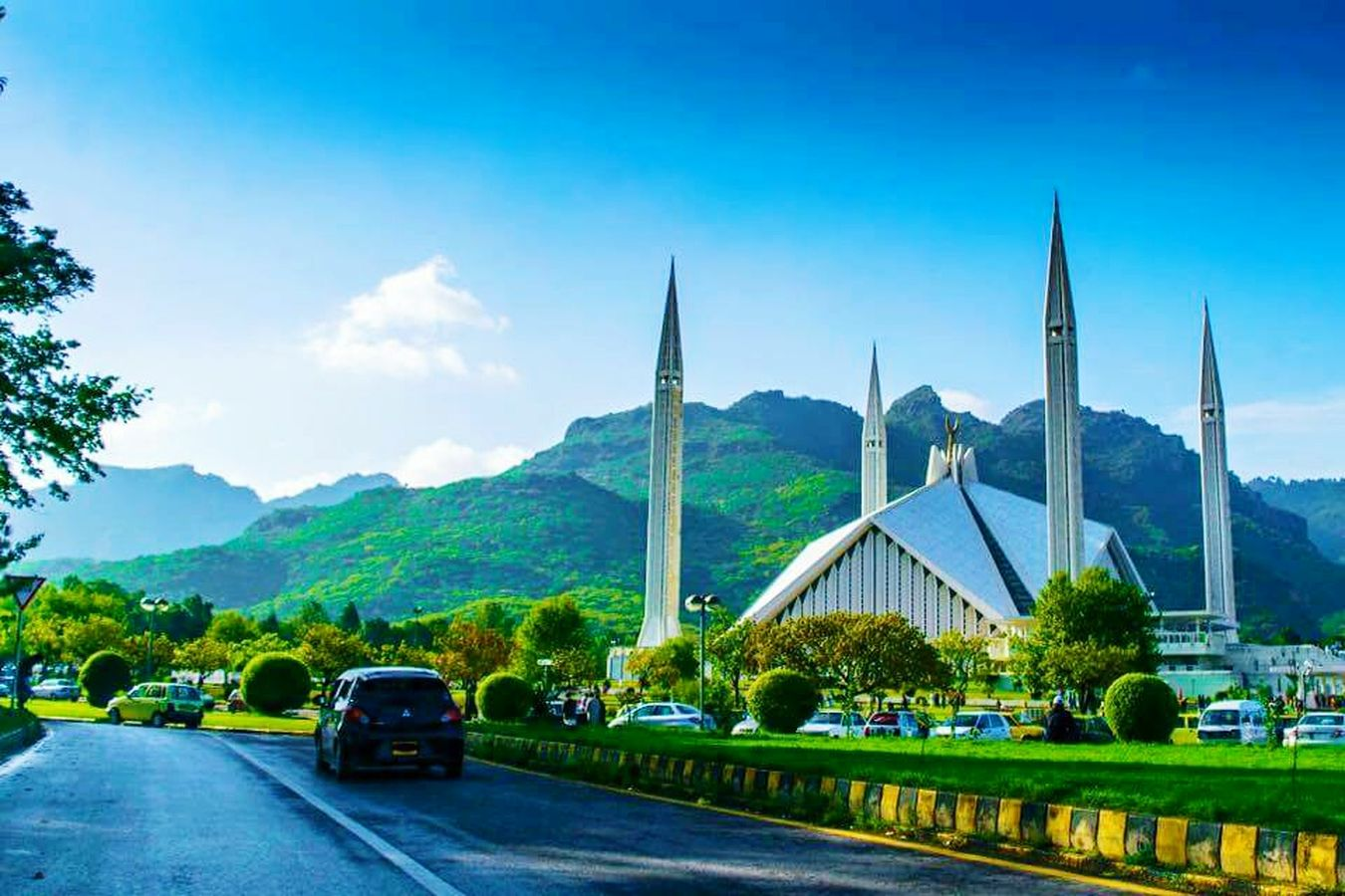 Mosque Masjid FaisalMosque Like4like Islamabad IslamabadTheBeautiful Mountains Likealways Landscape FaisalMasjid Faisal Masjid