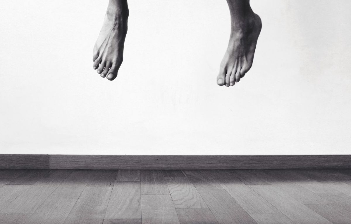 UP.... Monochrome Photography TakeoverContrast Flying Young Adult Different Perspective Exceptional Photographs Eyeem Market EyeEm Gallery Getting Inspired Personal Perspective Studio Shot Minimalism Creativity Capture The Moment Blackandwhite Monochrome Feet Art My Unique Style ThatsMe