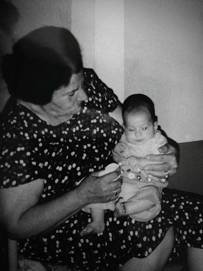 Nonna❤ Nipote Blackandwhite Remember