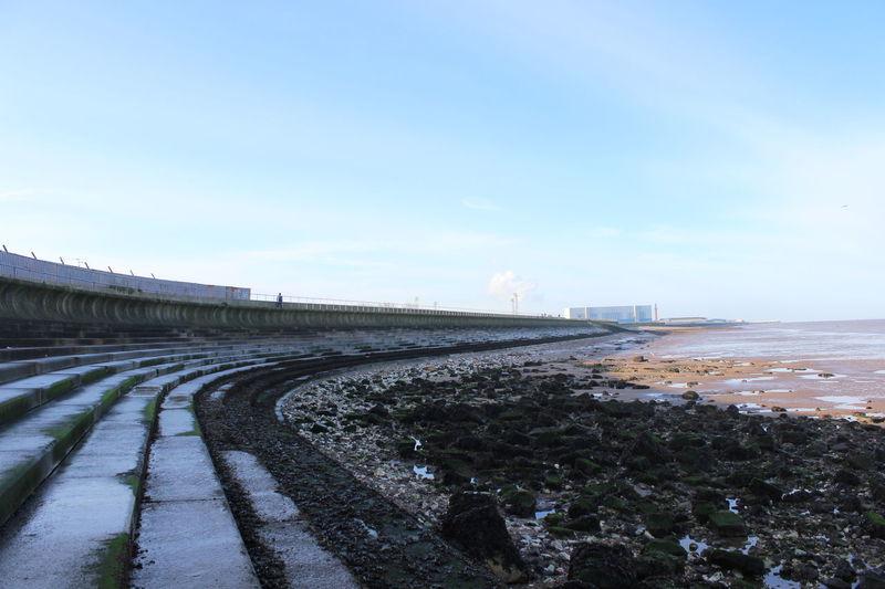 Cleethorpes Sea Defence Wall Scenics Sea Sea Wall Steps Water First Eyeem Photo