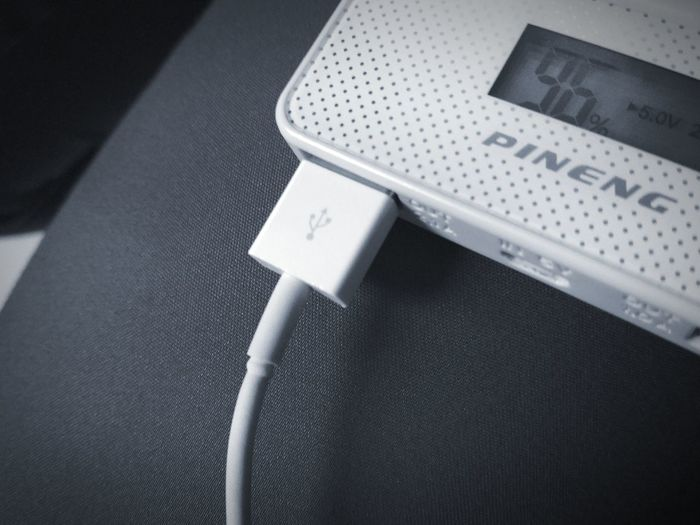 usb cable plugs on powerbank Usb Cable USB PinengPowerBank Powerbank Charger Charge Charger Cable Iphone Cable Technology Invention Battery Indoors  High Angle View No People Close-up Day