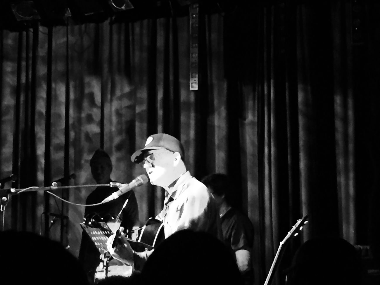 Lambchop Vienna Concert Wonderful What Does Music Look Like To You? Black And White