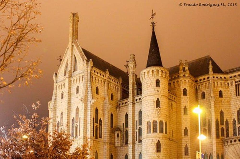 Palacio Episcopal de Astorga , SPAIN , designed by Antonio Gaudi