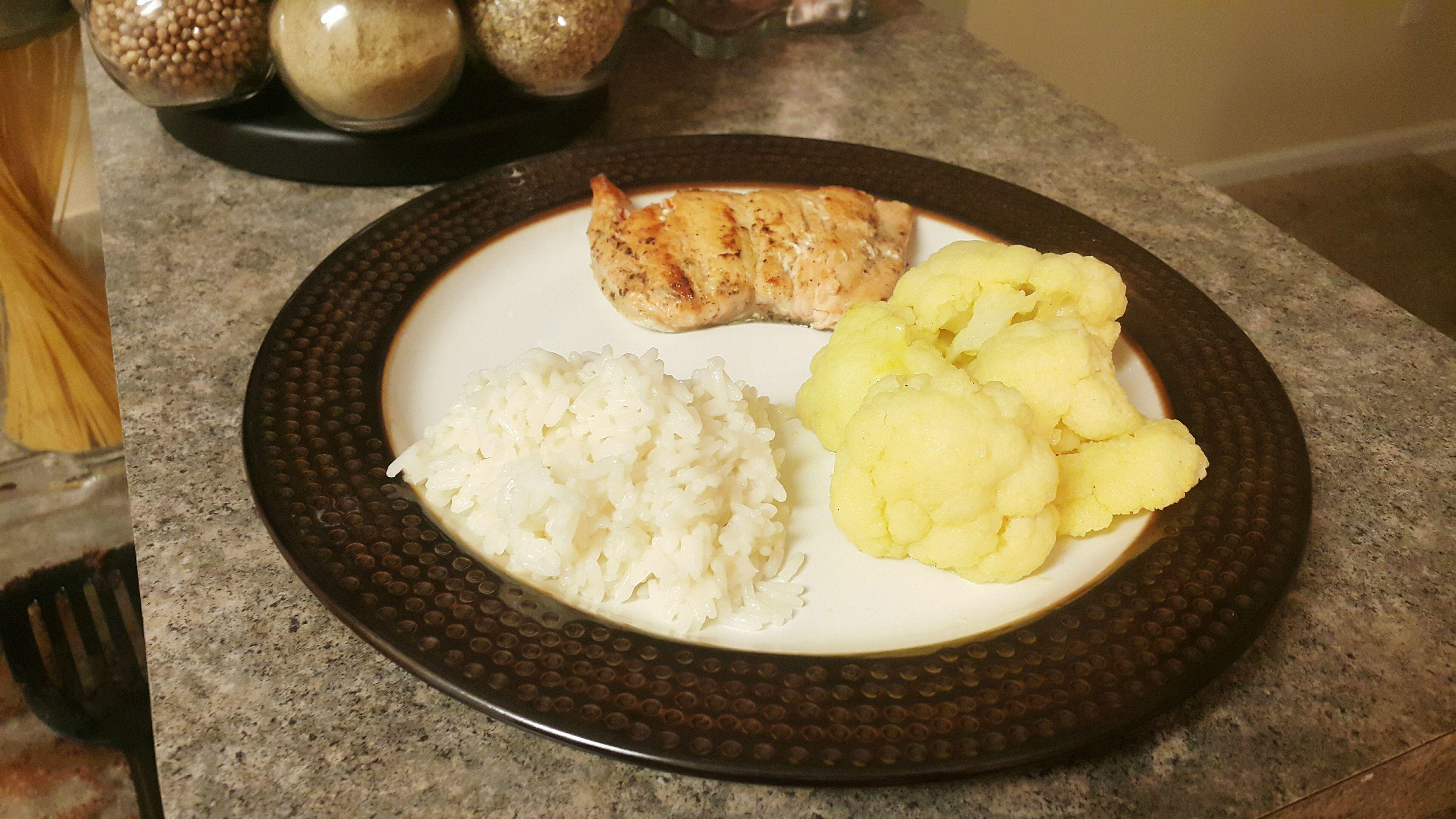 Chefrock Foodporn Dinner Panseared Salmon Fish