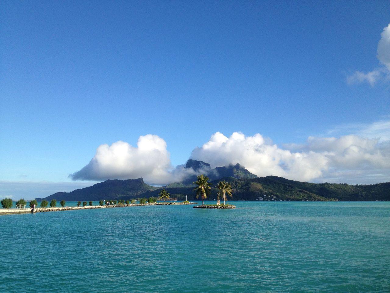 Beautiful stock photos of bora bora, Beauty In Nature, Bora Bora, Cloud - Sky, Copy Space
