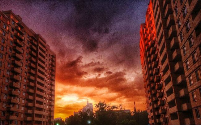 Cities At Night Russia Lipetsk