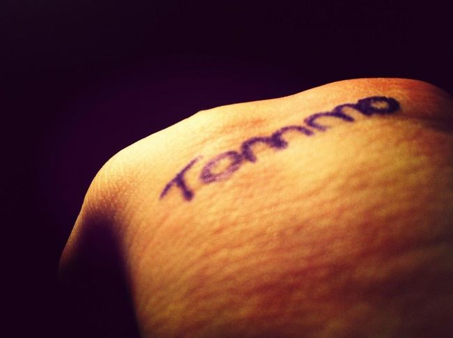 Tommo ... Love You.