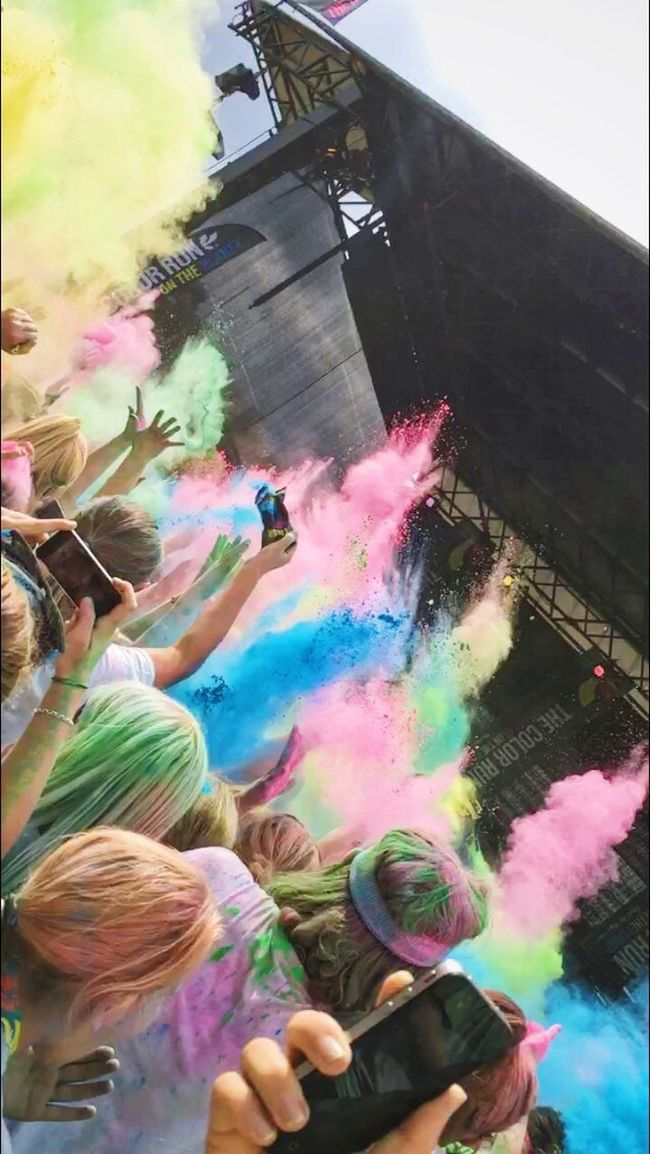 🎉😜 Colorrun2016 ColorRunner Colorexplosion
