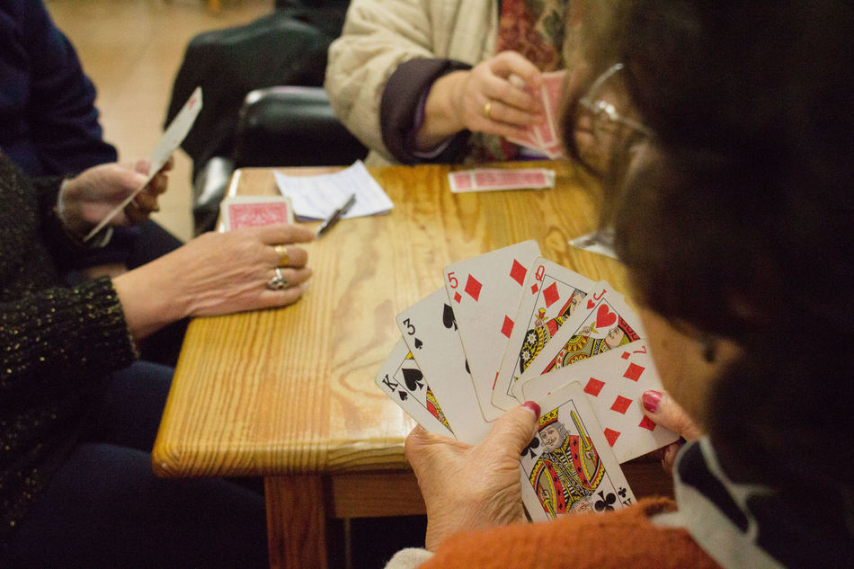 Cards Cheating Games Deck Of Cards Mature Woman Playing Cards Playing Games Socializing Womans Playing Cards