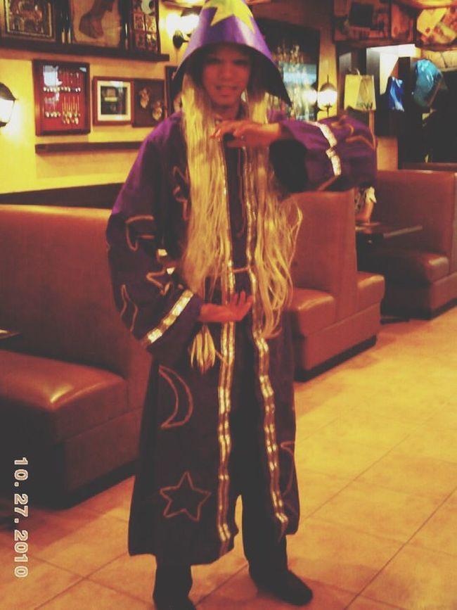 Flashbackfriday Managers Halloween Custome BigbysCafe 2010