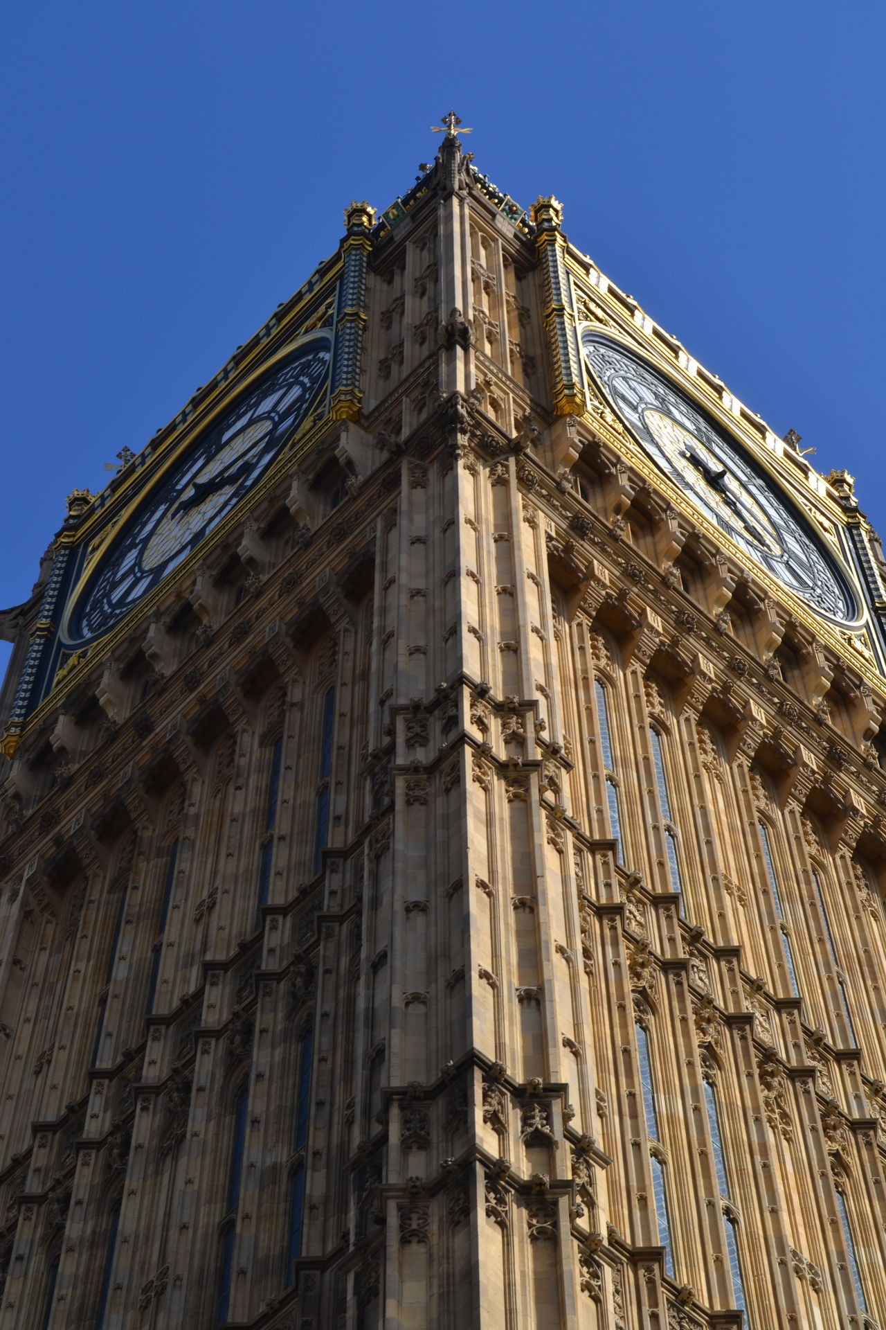 Architecture Big Ben Building Exterior Built Structure City Clear Sky Clock Clock Face Clock Tower Day History Low Angle View No People Outdoors Sky Time Tower Travel Travel Destinations