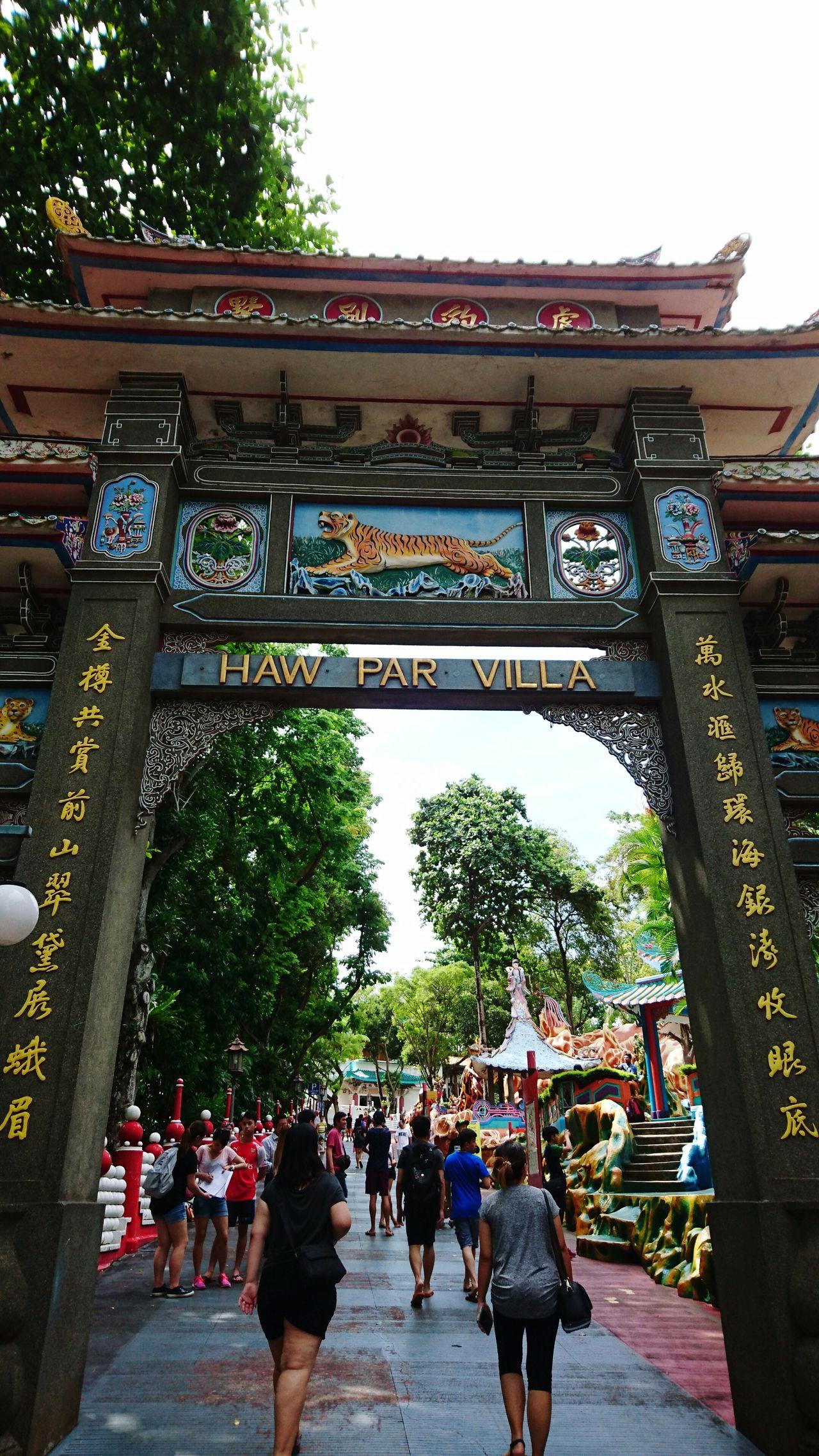 Hawparvilla Singapore Entry