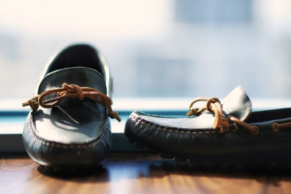 Old-fashioned No People Close-up Technology Indoors  Day Shoes Shoe Loafers Bokeh Against The Light Pair Hotel Sperry Sperrytopsider SperryTopSiders