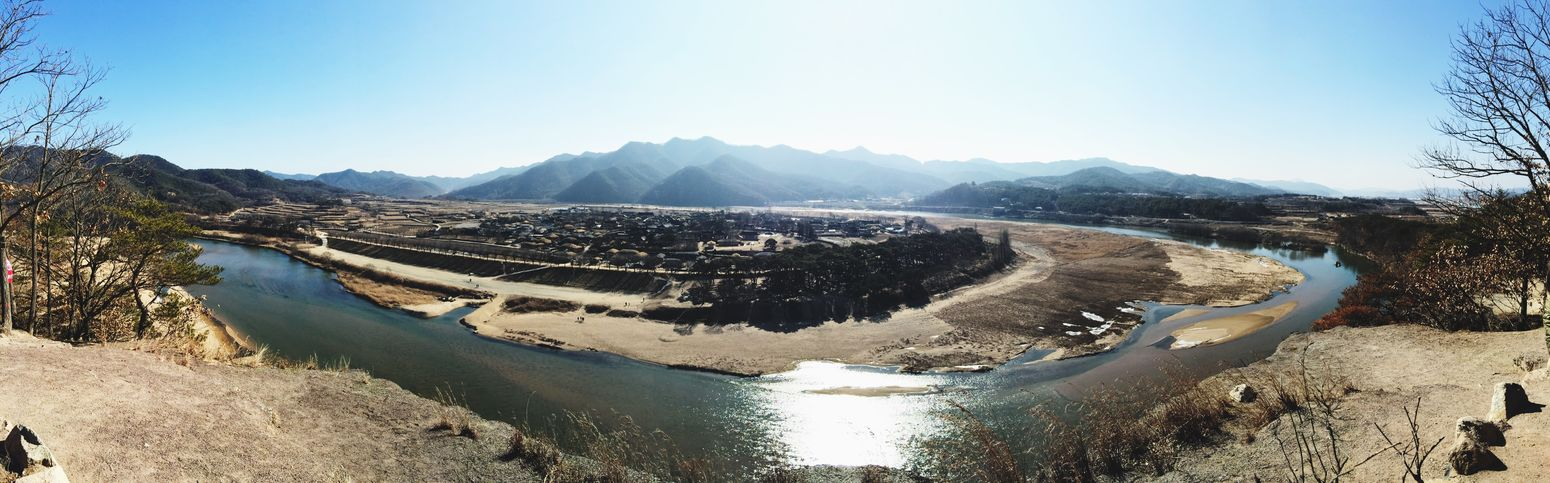 It is quite a panoramamic view. View