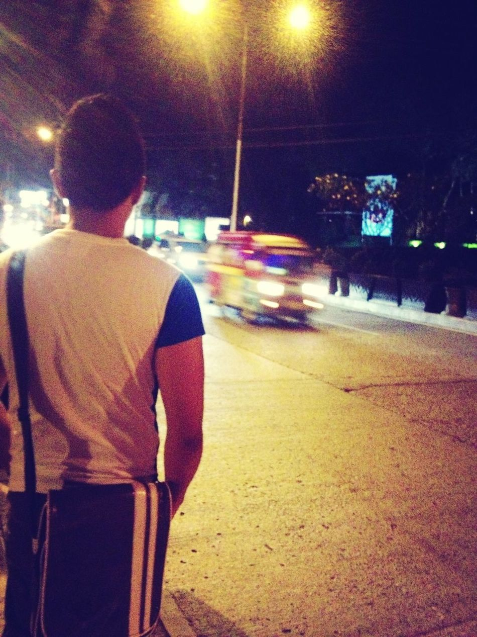 street lamps cut wide.