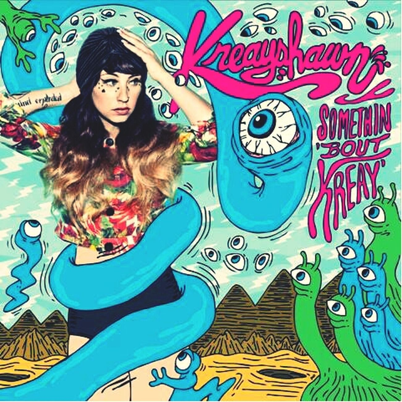 This album is inspiration Kreayshawn