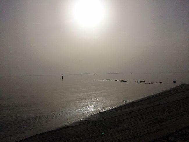 La Manga...Cartagena.. Los Alcázares Mar Menor Mediterranean  Beautiful IPhoneography Sea And Sky Foggy Morning Beach Nature