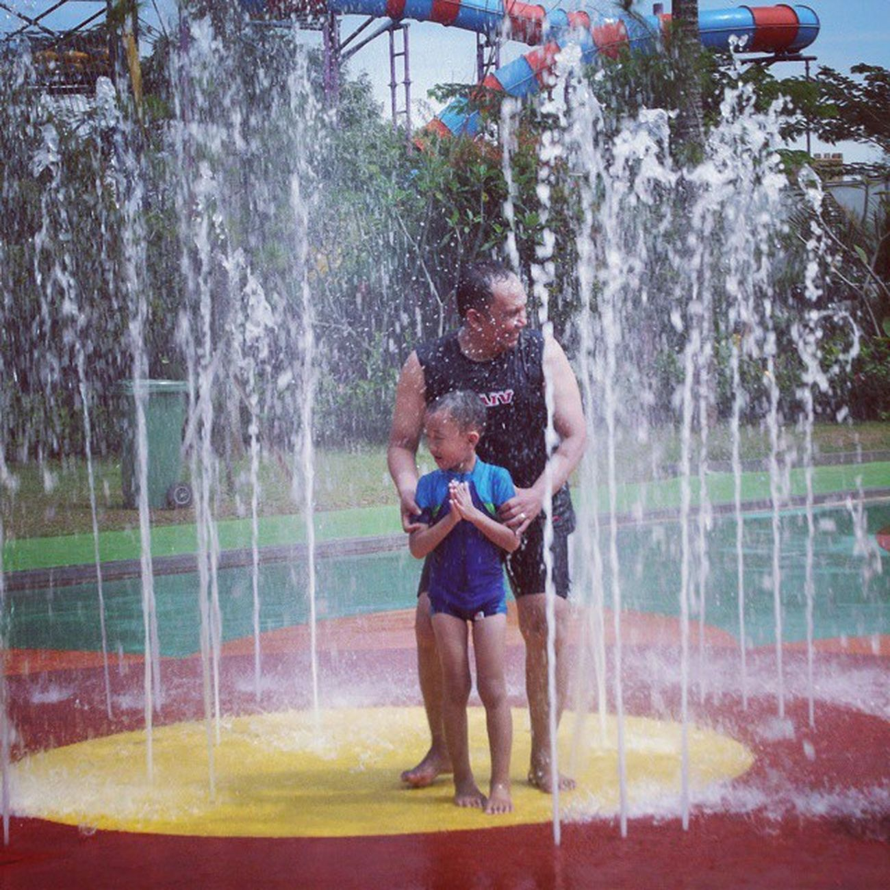 Tirai air Waterkingdom