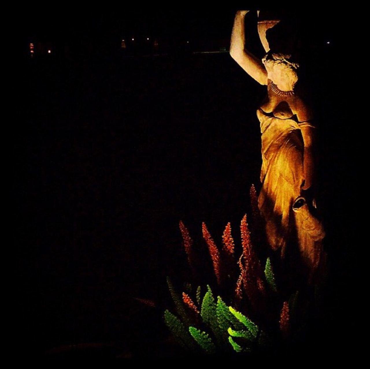 Louisiana Love Backyard Statue Fountain Moms House Artsy