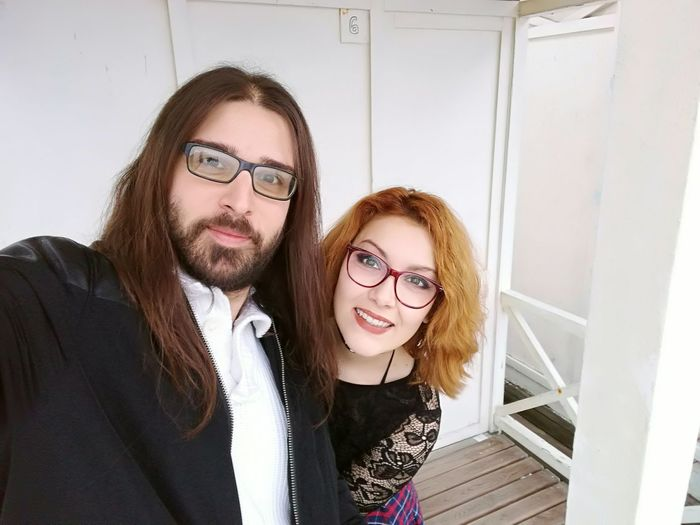 Love is everything Eyeglasses  Two People Young Adult Adults Only Young Men Business Men Businesswear Adult Young Women Office Beard Women Business Finance And Industry Long Hair Colleague People Togetherness Smiling Businessman Love Couple Ginger Redhead