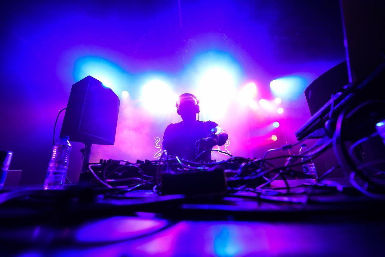 Beautiful stock photos of decks, Arts Culture And Entertainment, DJ, Illuminated, Indoors