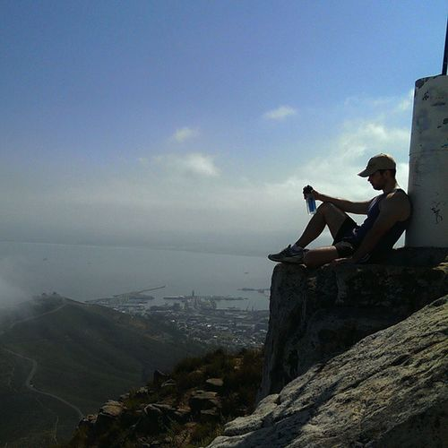 Pensive Lionshead Breather Instastalker Thatviewtho Instahike Amazingcapetown Cityofcapetown Explorecapetown Cityofcapetownskies