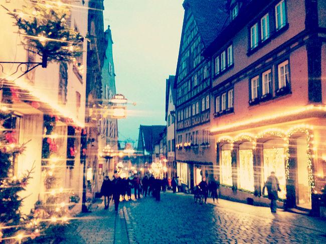 Weihnachten Rothenburg O. T. Merry Christmas!