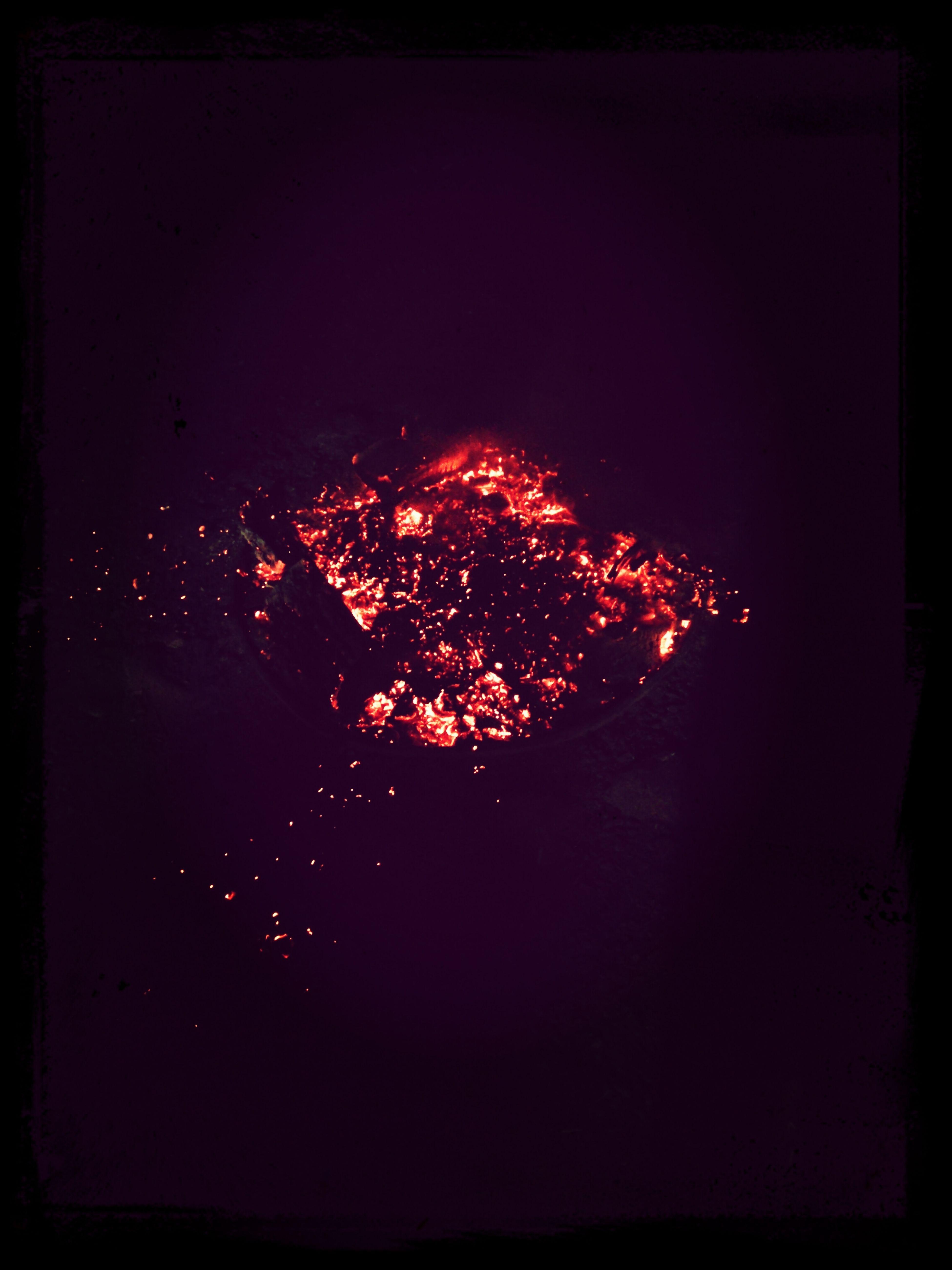 Nach dem Feuer Camp Fire