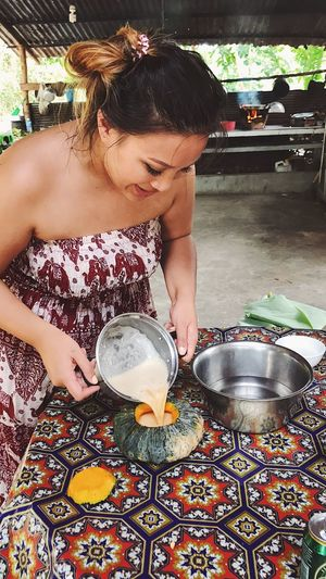 Cambodia Siemreap Southeastasia Countryside Cooking Class Cooking Culture Duck Egg Pumpkin Real People Self Portrait Travel Travel Destinations Bucket List Backpacking Wanderlust
