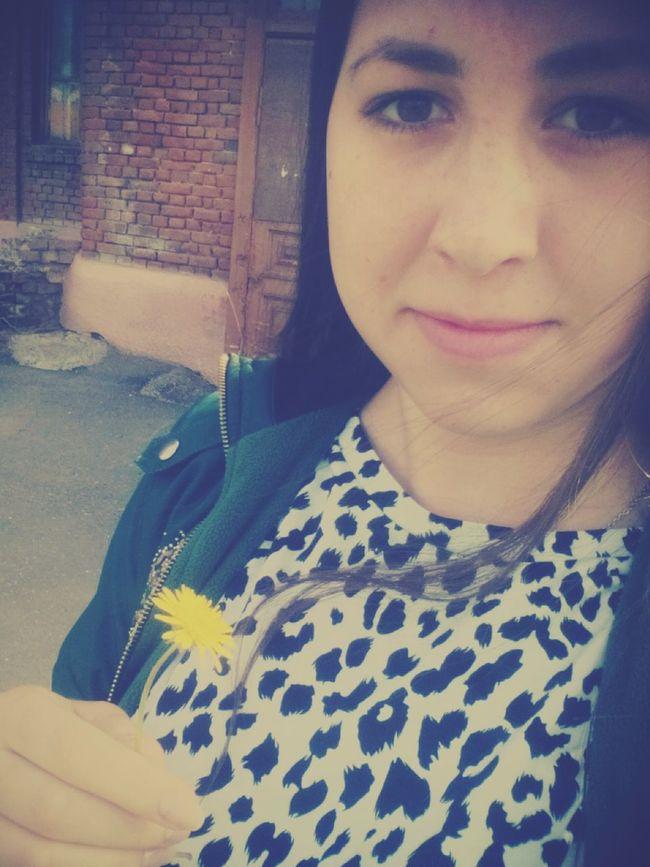 междупарами Selfie ✌ селфи одуванчик Аеееее^^