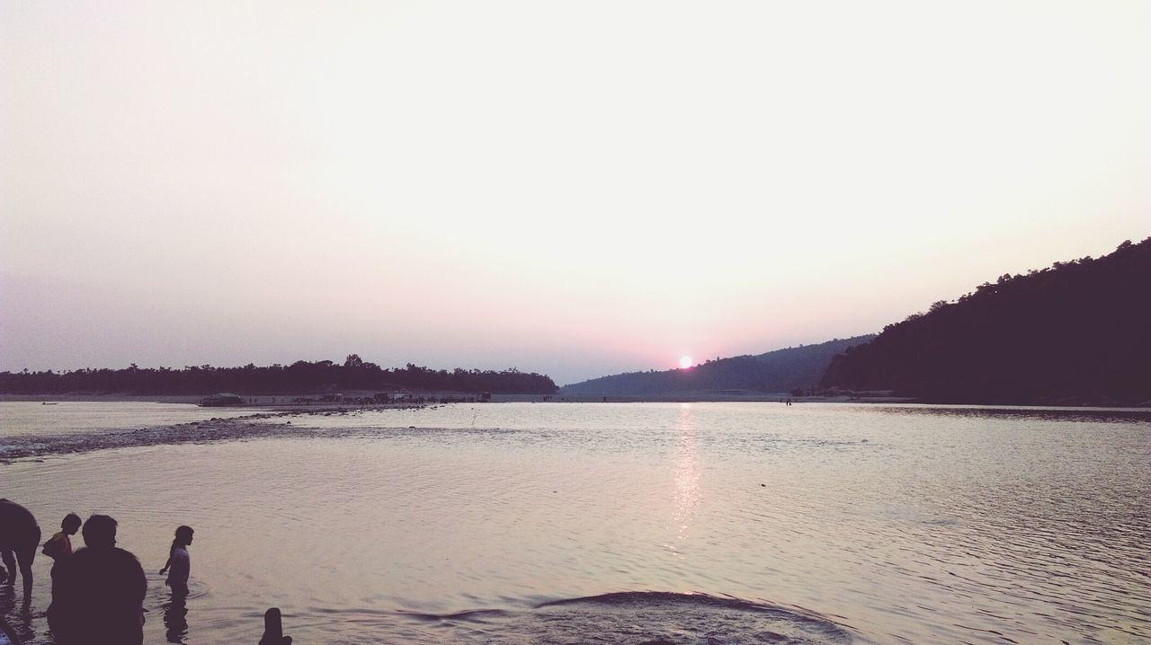 Sunset, Never beautiful before... Ralxed.. :)