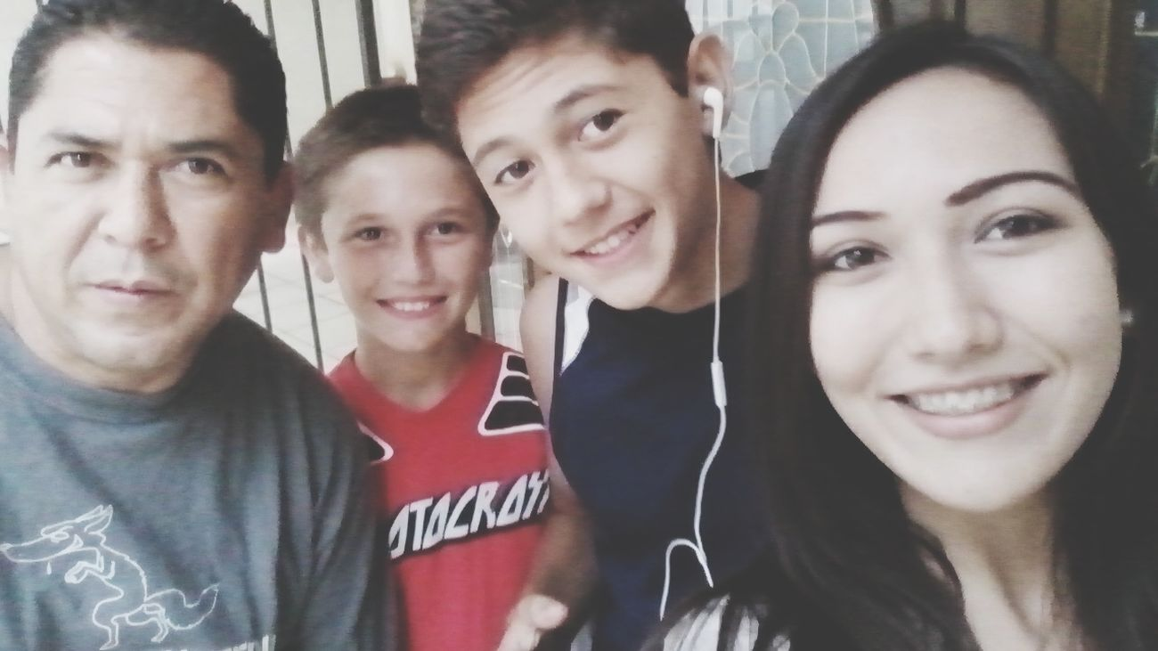 My Favorite Boys ❤ Family❤ Excersise Go Go Go!! Selfie ✌
