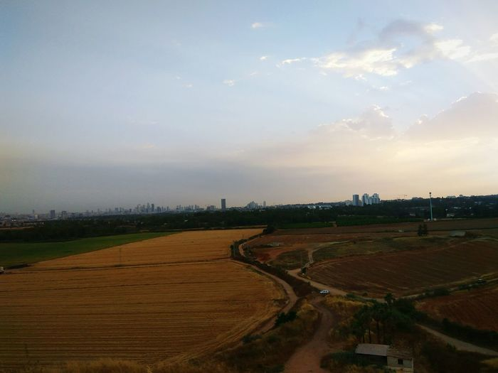 Tel Aviv from a distance